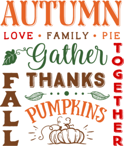 Autumn Words 2